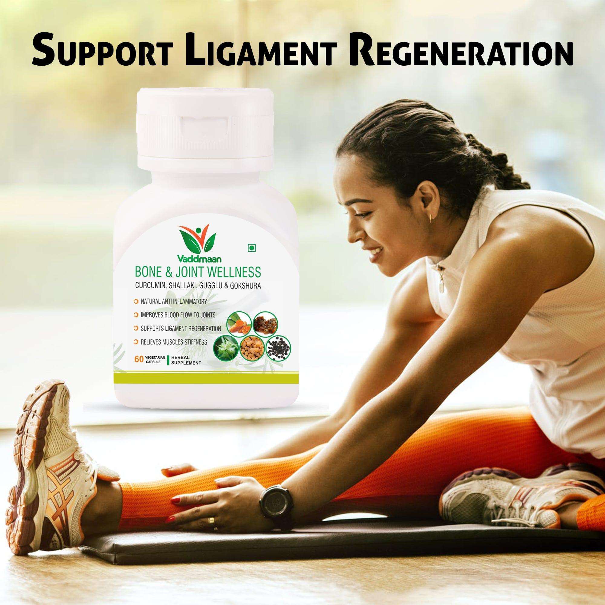 Healthy Bones & Joints in Natural Herbal Way!